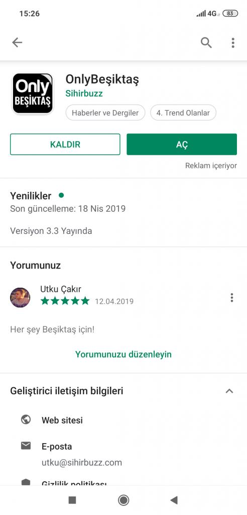 OnlyBesiktas Trend